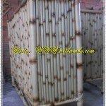 Balcão de bambu